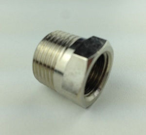3/8m - 1/4f Reducing Adapter