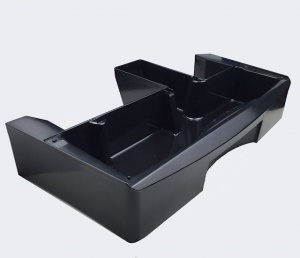 Brilliance Black Plastic Drip Tray