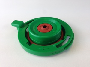 Mounting Plate Whipper Green