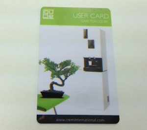 Smart Card Green User Card