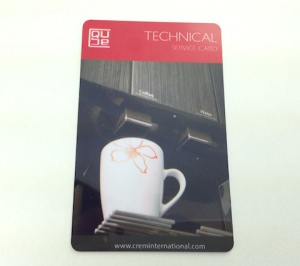 Smart Card Red Technical Card
