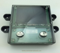 Display PCB Carat with 2 Buttons